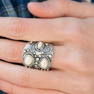 Mountain Ranger White Ring
